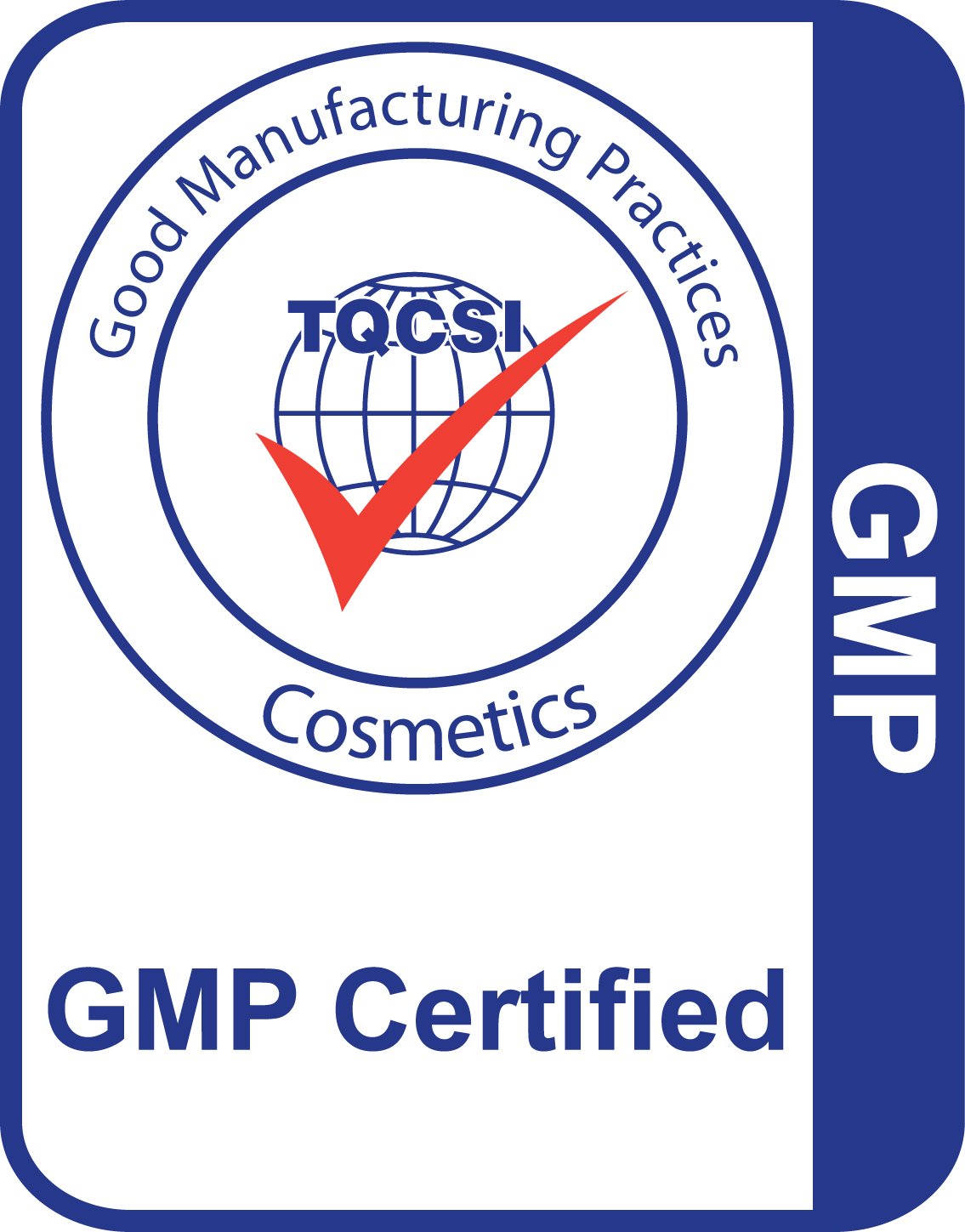 GMP Cosmetics Certification Logo