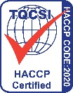 HACCP Food Safety Program Certification Logo