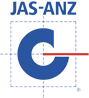 JAS ANZ logo - Joint Accreditation System of Australia and New Zealand